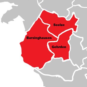 Bild: Karte vom Wahlkreis